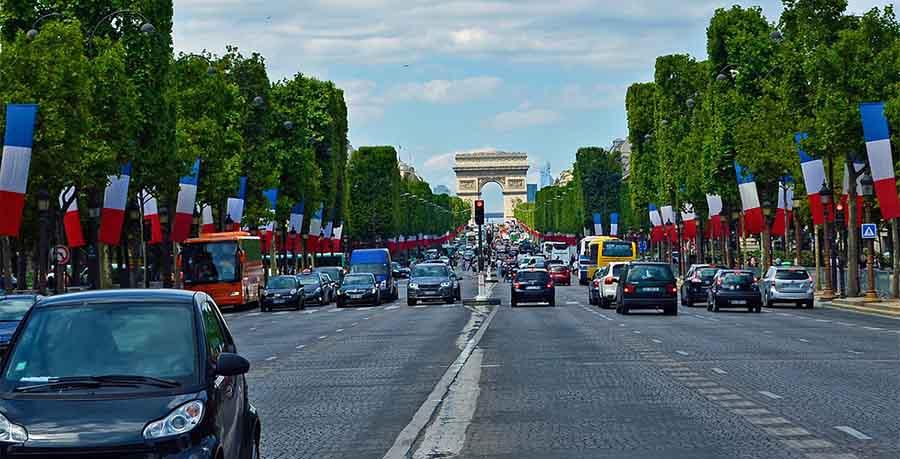 Vägavgift i Frankrike