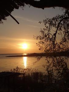 Solnedgång. Bild från Pixabay